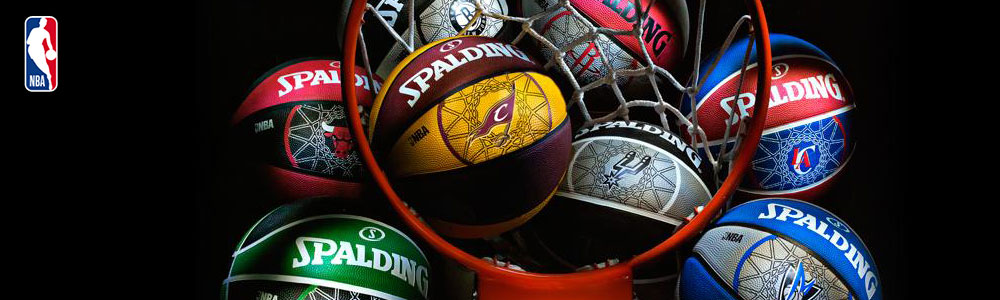 nba team balls spalding